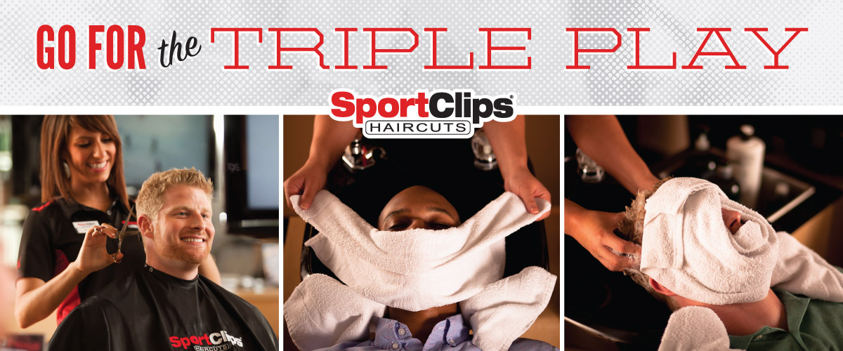 The Sport Clips Haircuts of Appleton West Triple Play
